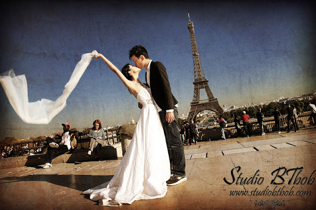 post-wedding photographer in Paris