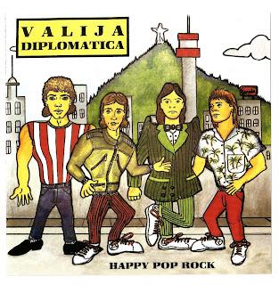 Valija Diplomática - Happy Pop Rock (CD, Album) [1986] 01