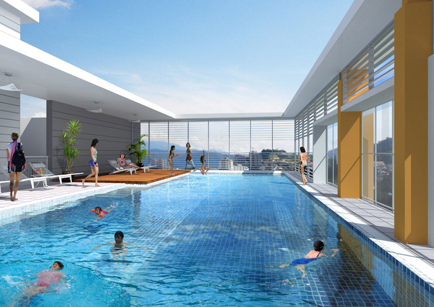 Sweeming pools wallpapers best wallpapers on the net for Rooftop swimming pool