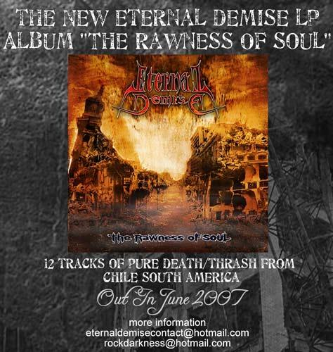 ETERNAL DEMISE - THE RAWNESS OF SOUL (2007)