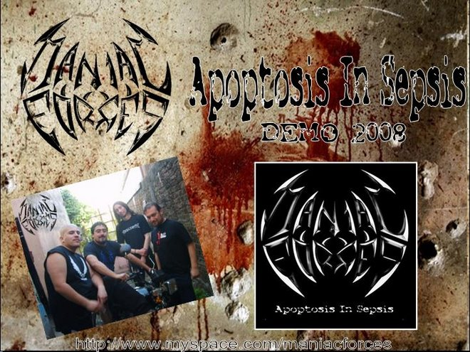 Maniac Forces - Apoptosis In Sepsis - Demo 2008