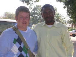 Pastor Luke and Jonathan in Zambia