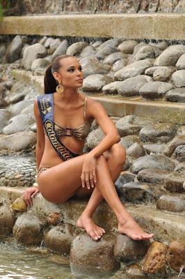 Miss American Continent Continente Americano 2009 Lina Mosquera