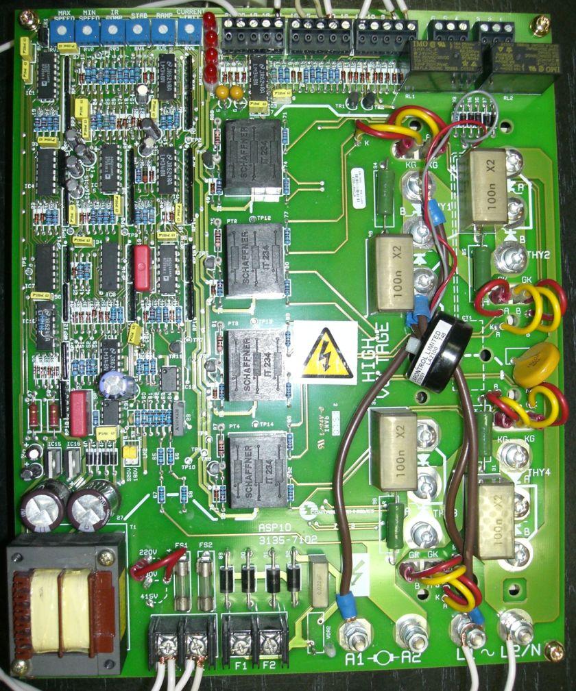привод постоянного тока схема
