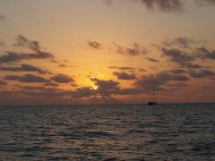 Sunrise at Rodriquez Key