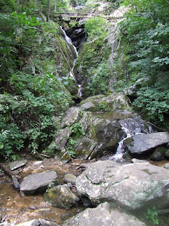 base of Dark Hallow Falls, Shenandoah National Park