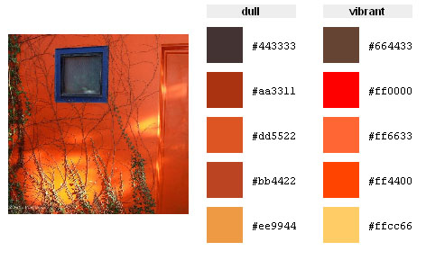 Shades of red color palette hex rgb code