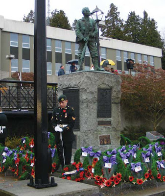 NAMC montessori classroom veteran's day remembrance day activities soldier memorial