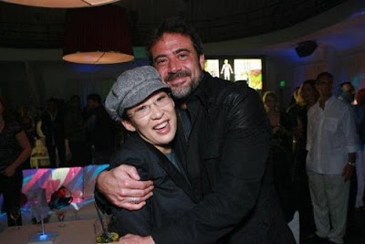 sandra oh and jeffrey dean morgan
