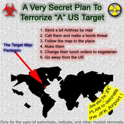 A very secret terror plan