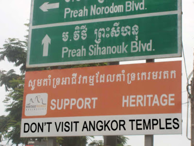 Protect Cambodian Heritage