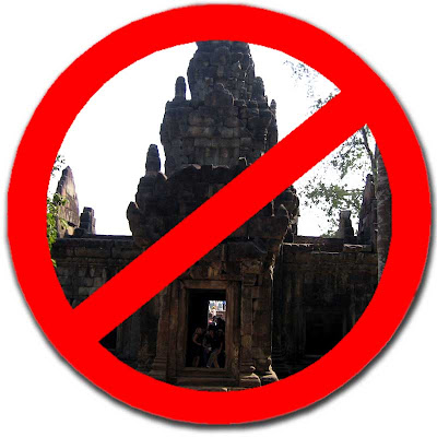 Say No To Angkor Temples