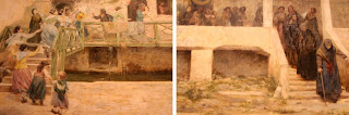 painting by Cesare Laurenti, diptych