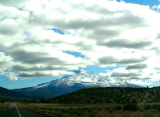 Mt. Shasta, road trip
