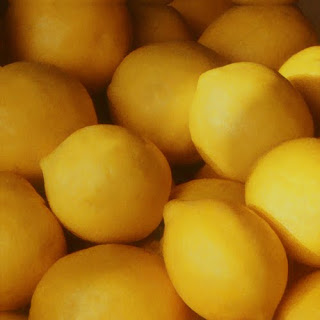 lemons, canvas wrapped print
