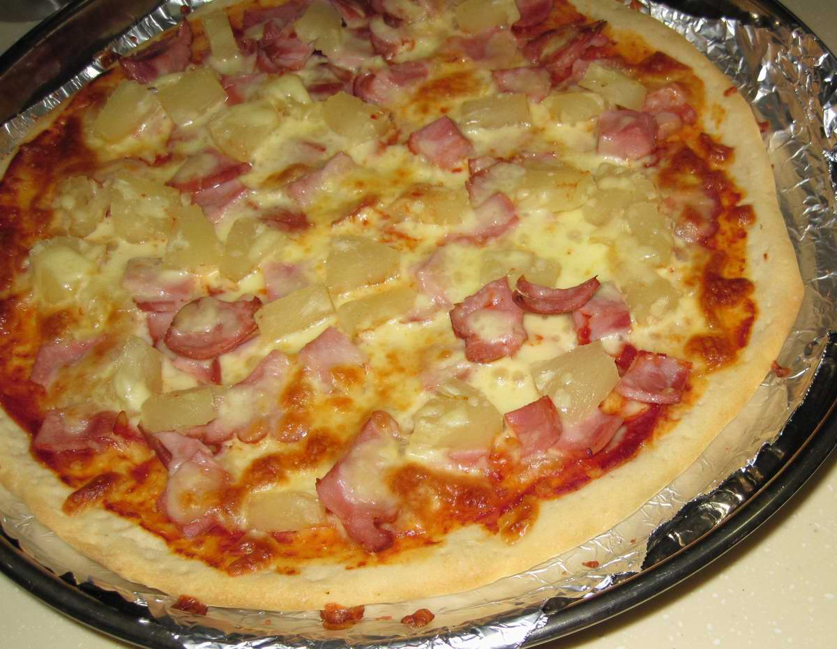 to pizza original hawaiian 11 pockets pineapple golf nut pizza