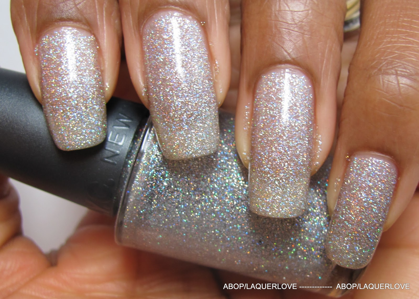 ANOTHER Bottle of Polish?!: ABOP Franken - Holographic MicroGlitter
