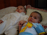 Os gêmeos 5 meses!