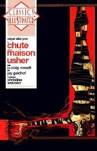 La chute de la maison Usher en livre CD