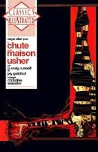 La chute de la maison Usher en livre CD