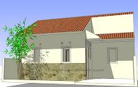 Kamar Mandi Kecil Design on Rumah Gratis  Rumah Di Lahan 9x8 M2 Dengan Dua Kamar Dan Carport