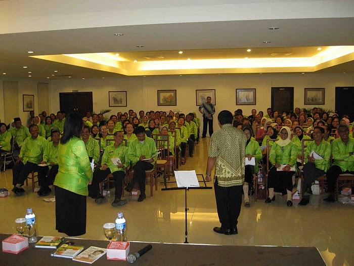 Roadshow Pelatihan 1000 guru se Sumatera Utara bersama PWI Medan dan PT ASIAN AGRI
