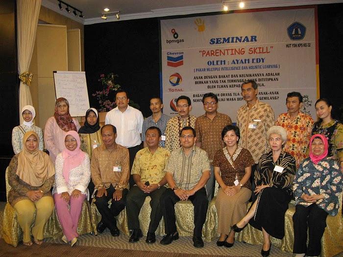 Parenting Chevron, Conoco &Total, Balikpapan, KALTIM