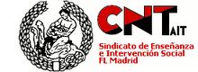 CNT AIT Sindicato de Enseñanza e Intervención Social de Madrid