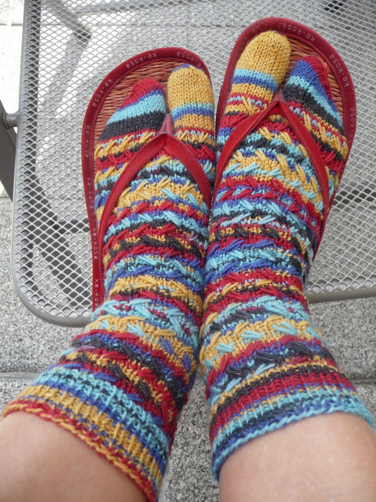 Flip-flop-Socken