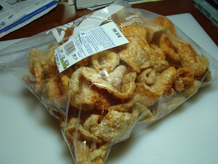 how to get pork skin to crackle