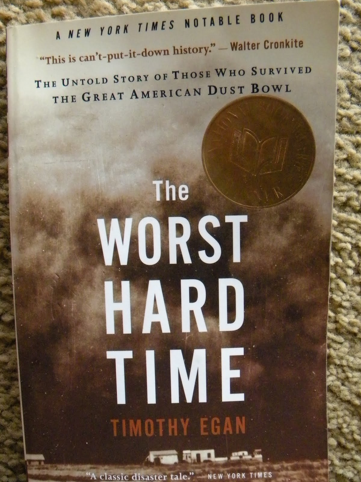 book report on the worst hard time The worst hard time: the great american dust bowl i have a strange obsession with the great depression  here's my book report on the worst hard time.
