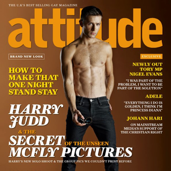Harry Judd For Attitude Magazine Feb 2011 + Behind The Scenes Video