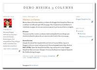 3 columns minima template