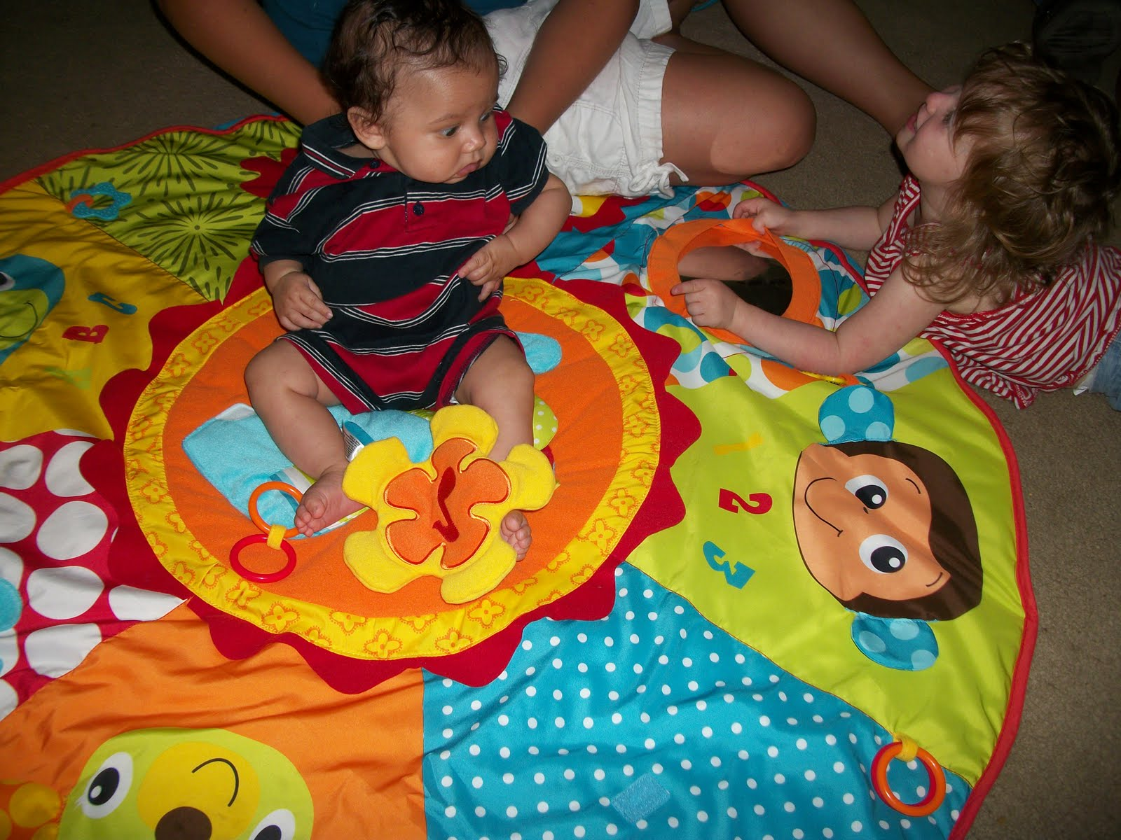 Best INFANTINO Jumbo Patchwork Play Space Baby Tummy