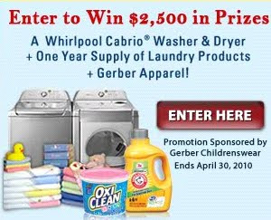 OxiClean Giveaway brought to you by Gerber