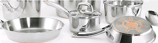 Copper bottom stainless steel pots & pans