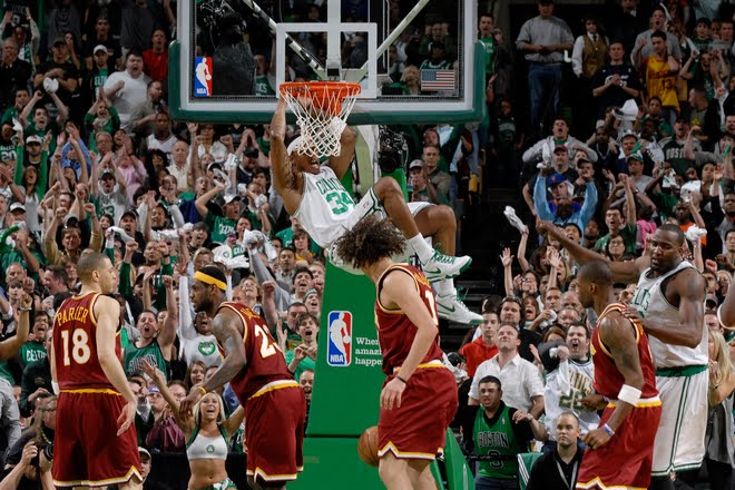 paul pierce dunk on channing frye. 2010 NBA Playoffs: Paul Pierce