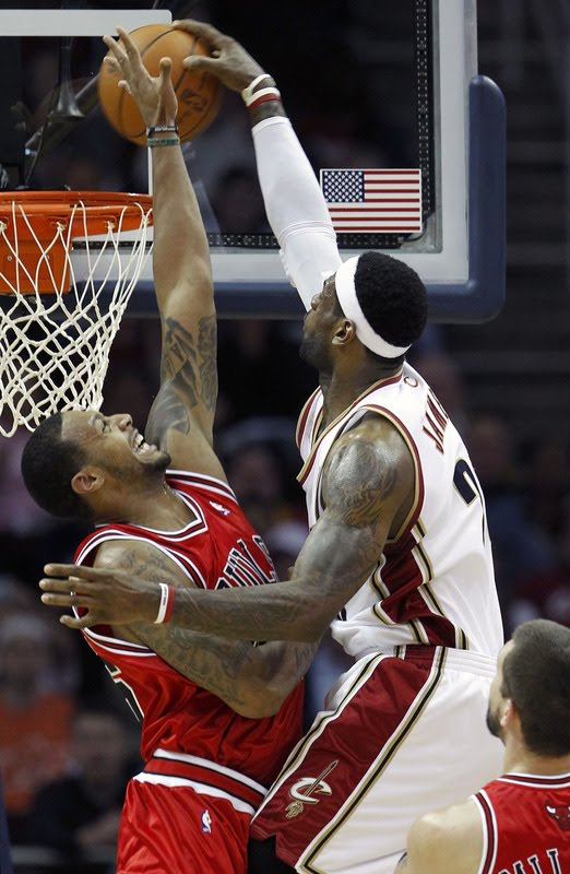 lebron james dunk 2010. Dunk of The Week: Lebron James
