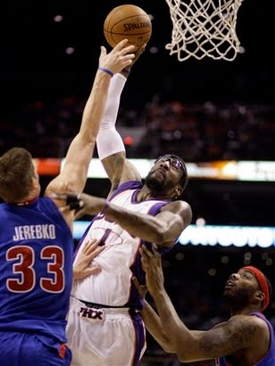 Amare with his nightly poster dunk, via NBA.