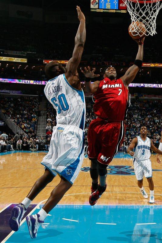 emeka okafor dunk. Emeka Okafor Charlotte Bobcats