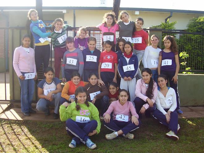 Competidores de la maratón de invierno