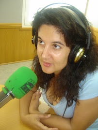 En la radio.