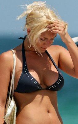 Brooke Hogan sexy bikini photo