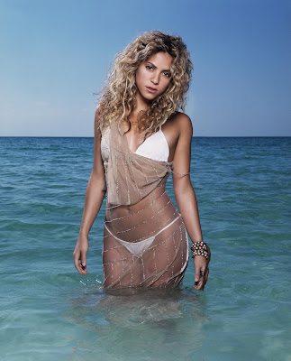 Shakira&#39;s bikini photo