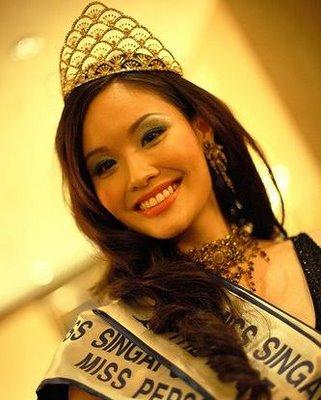 Rachel Kum Singapore Miss Universe