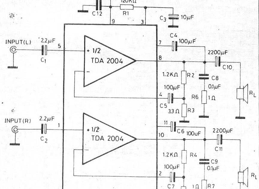 tda2004 amplifier car audio stereo otl 10w 10w