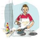 Estar en la cocina