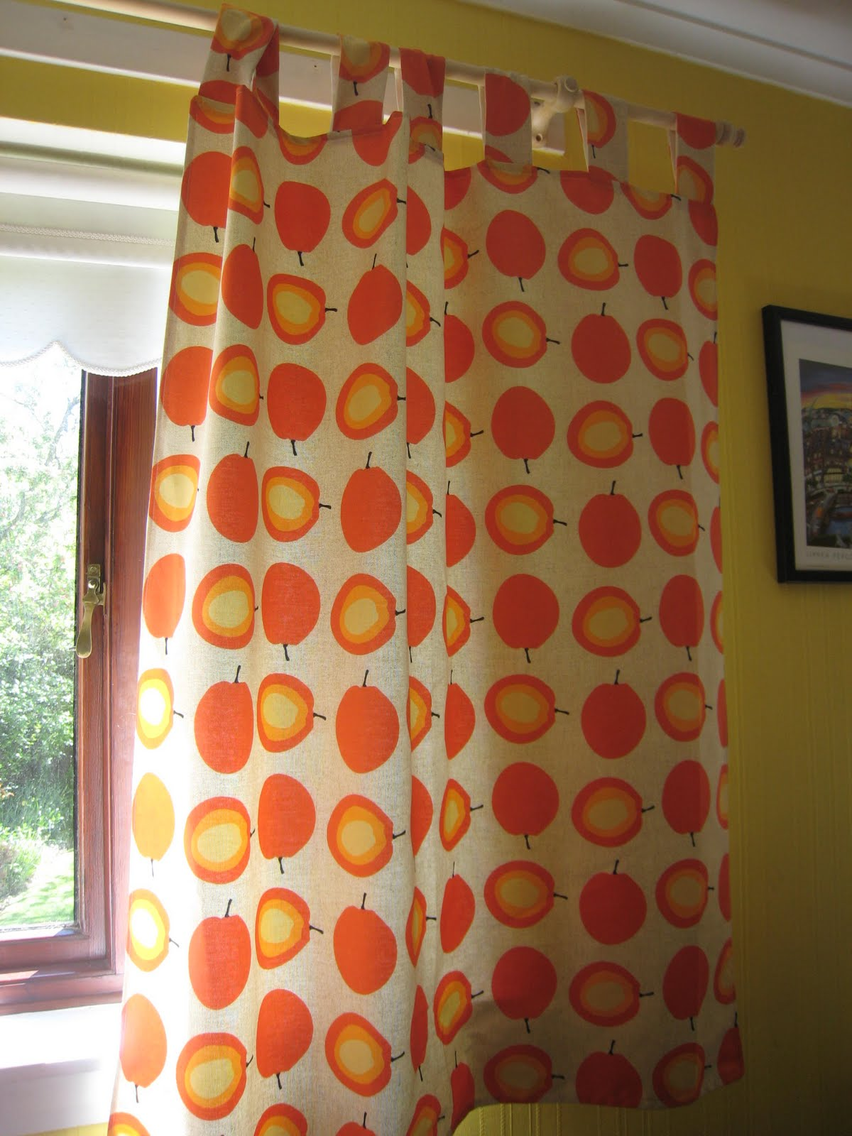How to make tab top curtains - Tutorial Quick Tab Top Curtains