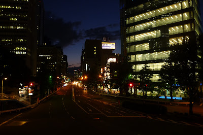 shinjuku in the dark of almost night [image]