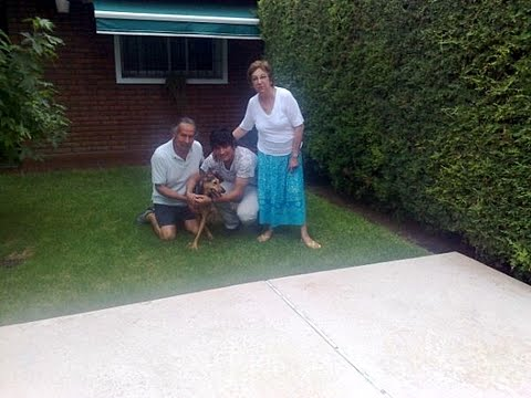 CHICHA, adoptada luego de tres añitos !!!